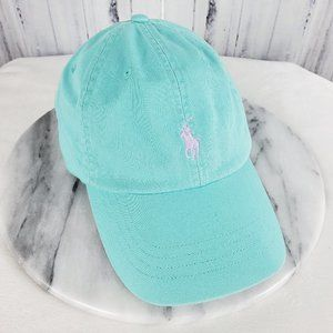 POLO Ralph Lauren Teal TQ Baseball Cap Hat